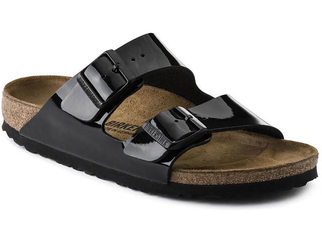 Birkenstock Arizona Sandaalit Birko-pohja/patentti Naiset, black/birko-flor/patent